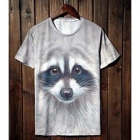 Trend Животные печати серии шорты LangTuo Мужская (Цвет экрана) (57) #01279802
