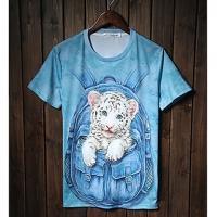 Trend Животные печати серии шорты LangTuo Мужская (Цвет экрана) (49) #01279780