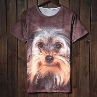 Trend Животные печати серии шорты LangTuo Мужская (Цвет экрана) (53) #01279791