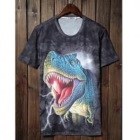 Trend Животные печати серии шорты LangTuo Мужская (Цвет экрана) (54) #01279793