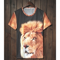 Trend Животные печати серии шорты LangTuo Мужская (Цвет экрана) (51) #01279787