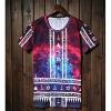 Личность Звезда серии Печать шорты LangTuo Мужская (Цвет экрана) (13) #01279620